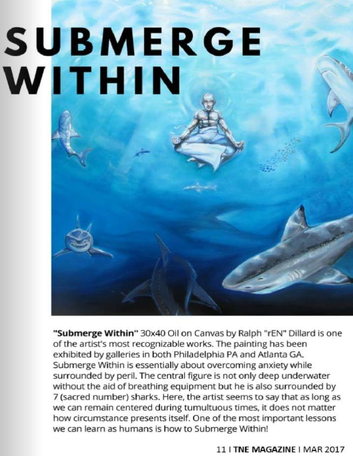 Submerge Within in TNE MAGAZINE MARCH 2017 EDITION