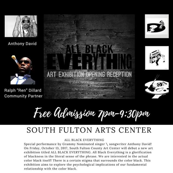 All Black Everything Exhibition 2017