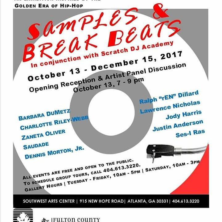 Samples and Breakbeats Exhibition