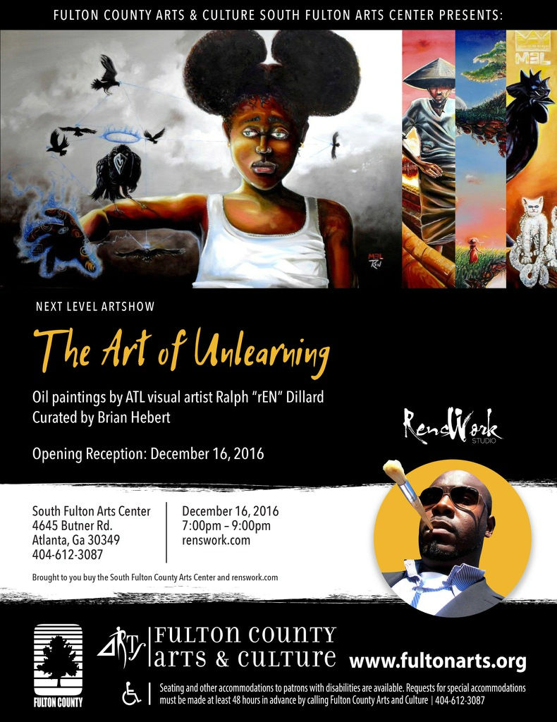 The Art of Unlearning Exhibition December 16th 2016