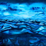 Storms a coming - oil on canvas by rEN