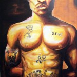 """Pac"" by rEN - oil on canvas"