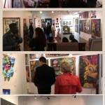 Art Opening at Dogwood Gallery featuring recent works by rEN -Oct 2014
