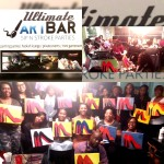 Paint Party classes at the Ultimate Art Bar